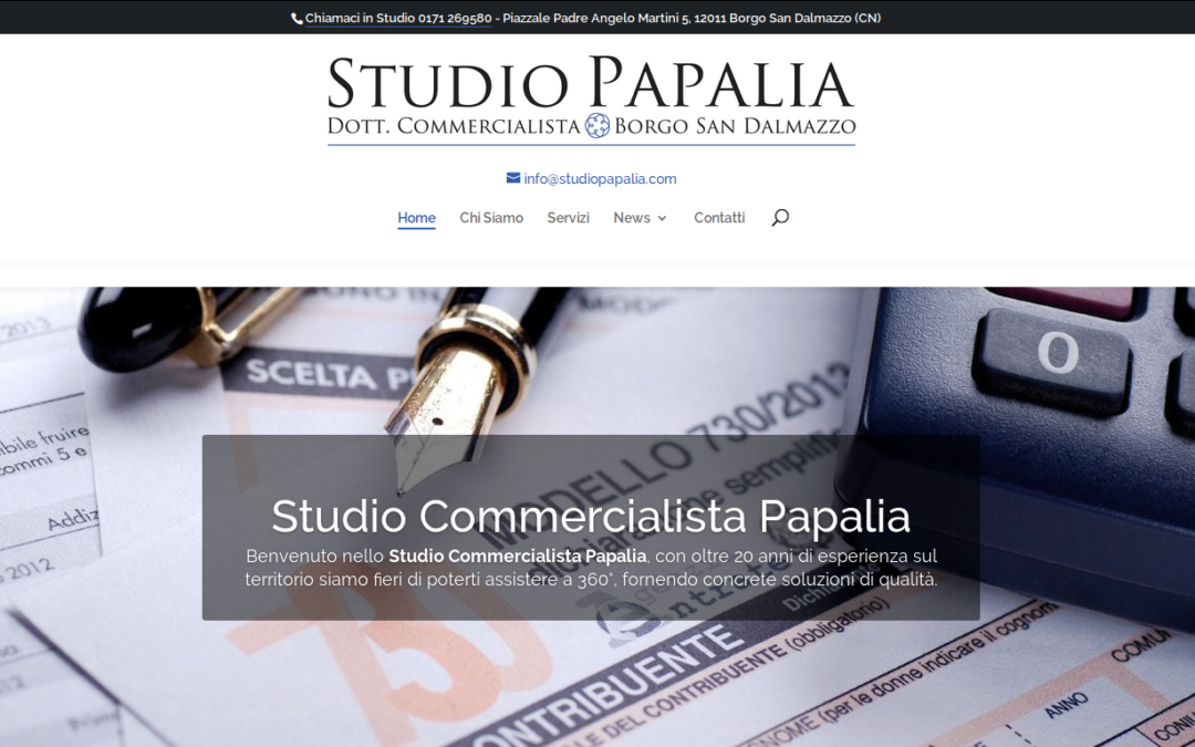 Studio Commercialista Papalia : Portale on-line